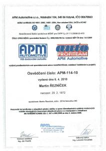 Certifikát klimatizace-1